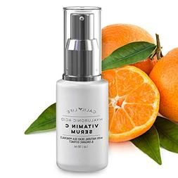 Calily Life Hyaluronic Acid Vitamin C Serum with Dead Sea Mi