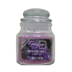 MAINSTAYS® Candles Lilac Breeze Scented Jar Candle, 3 oz.