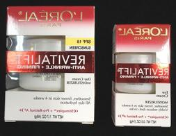 Loreal LOT OF 2 Revitalift Anti-Wrinkle Firming Day Cream Fa