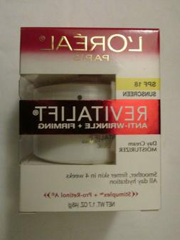 New L'Oreal Paris RevitaLift Anti-Wrinkle + Firming Day Crea