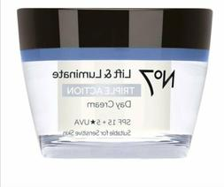 No7 Lift & Luminate Triple Action Day Cream SPF 15 50ml