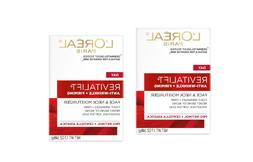 pack of 2 l oreal revitalift face