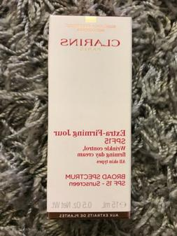 Clarins Paris Extra-Firming Jour SPF 15 Wrinkle Control Firm