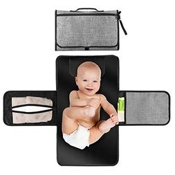Portable Changing Station for Newborn Baby Infant - Lightwei