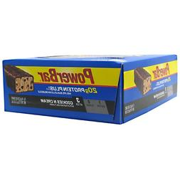 PowerBar Protein Plus Bars Cookies & Cream -- 15 Bars