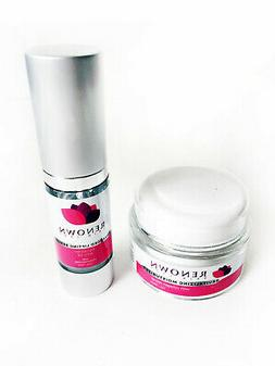 Renown Anti Aging Retinol ECGC Serum & Facial  Day Night Use