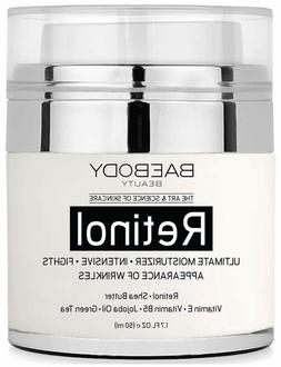 Retinol Moisturizer Cream for Face and Eye Area, Day and Nig