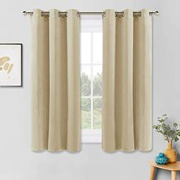 PONY DANCE Window Curtains Set - Room Darkening Home Decor W