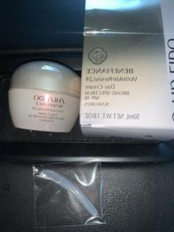 SEALED Shiseido Benefiance WrinkleResist24 Day SPF 18 Cream