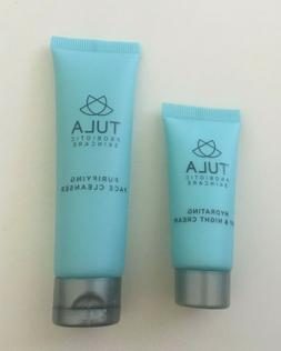 Set 2 Tula Hydrating Day & Night Cream and Purifying Face Cl