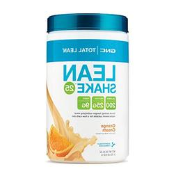 GNC Total Lean Shake 25, Orange Cream, 29.3 oz