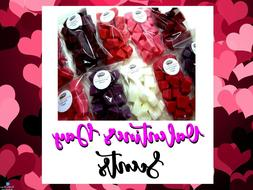 VALENTINE'S DAY 40 Wax Tart Melts 8 oz Chunks Chips Candle S