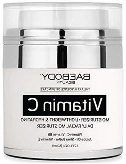 Vitamin C Moisturizer Cream for Face and Eye Area - With Vit